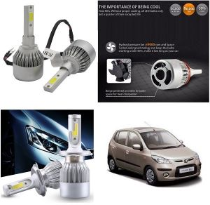 Headlights and bulbs - Trigcars Hyundai i10 Active Car LED HID Head Light