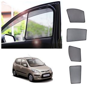 Magnetic curtain and sunshades for cars - Trigcars Hyundai i10 Active Car Half Sun Shade