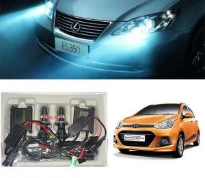 Trigcars Hyundai I10 Grand Car Hid Light