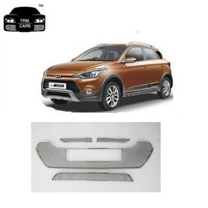 Trigcars Hyundai I20 Active Car Front Grill Chrome Plated