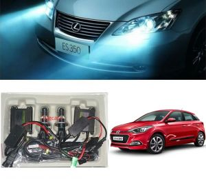 Headlights and bulbs - Trigcars Hyundai i20 Elite Car HID Light