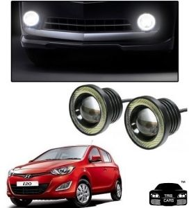 Trigcars Hyundai I20 New Car High Power Fog Light With Angel Eye