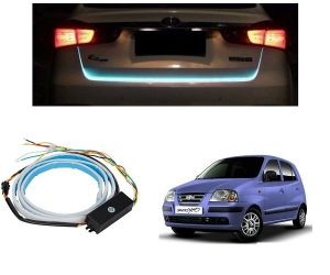 Trigcars Hyundai Santro Xing Erlx Car Dicky LED Light Car Bluetooth