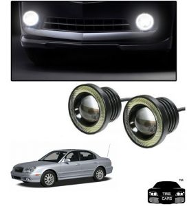 Trigcars Hyundai Sonata Old Car High Power Fog Light With Angel Eye
