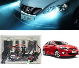 Trigcars Hyundai Verna Fluidic Car Hid Light