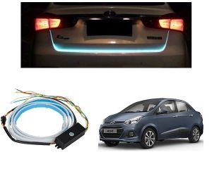 Trigcars Hyundai Xcent Car Dicky LED Light Car Bluetooth