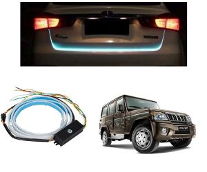 Trigcars Mahindra Bolero Car Dicky LED Light Car Bluetooth