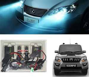 Headlights and bulbs - Trigcars Mahindra Scorpio Car HID Light