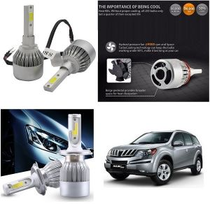 Trigcars Mahindra Xuv 500 New Car LED Hid Head Light