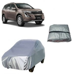 Trigcars Mahindra Xuv 500 Old Car Cover Silver