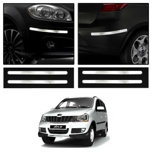 Trigcars Mahindra Xylo Car Chrome Bumper Scratch Potection Guard Car Bluetooth 250/-