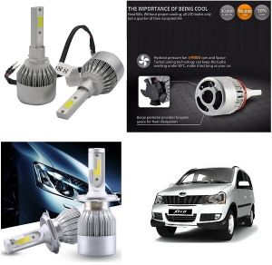 Trigcars Mahindra Xylo Car LED Hid Head Light