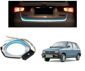 Trigcars Maruti Suzuki 800 Car Dicky LED Light Car Bluetooth