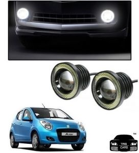 Trigcars Maruti Suzuki A-star Car High Power Fog Light With Angel Eye