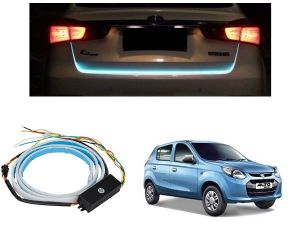 Trigcars Maruti Suzuki Alto 800 Car Dicky LED Light Car Bluetooth