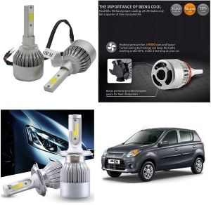 Trigcars Maruti Suzuki Alto 800 Car LED Hid Head Light