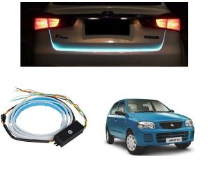 Trigcars Maruti Suzuki Alto Car Dicky LED Light Car Bluetooth