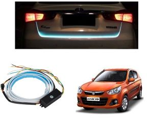 Trigcars Maruti Suzuki Alto K10 Car Dicky LED Light Car Bluetooth