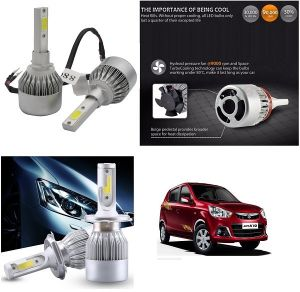 Headlights and bulbs - Trigcars Maruti Suzuki Alto K10 New Car LED HID Head Light