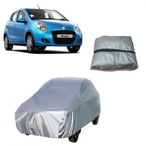 Body covers for cars - Trigcars Maruti Suzuki A Star Car Cover Silver