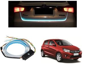 Trigcars Maruti Suzuki Celerio Car Dicky LED Light Car Bluetooth