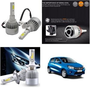 Trigcars Maruti Suzuki Celerio Car LED Hid Head Light