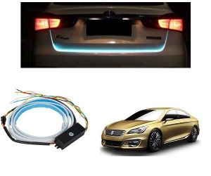 Trigcars Maruti Suzuki Ciaz Car Dicky LED Light Car Bluetooth