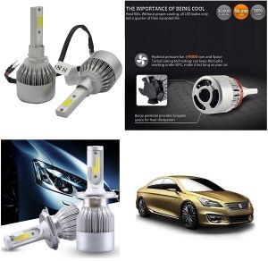 Trigcars Maruti Suzuki Ciaz Car LED Hid Head Light