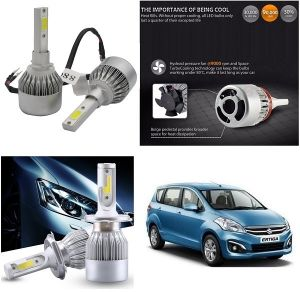 Headlights and bulbs - Trigcars Maruti Suzuki Ertiga Car LED HID Head Light