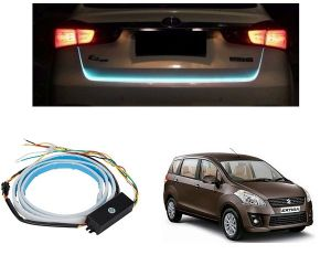 Trigcars Maruti Suzuki Ertiga New Car Dicky LED Light Car Bluetooth