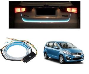 Trigcars Maruti Suzuki Ertiga Old Car Dicky LED Light Car Bluetooth
