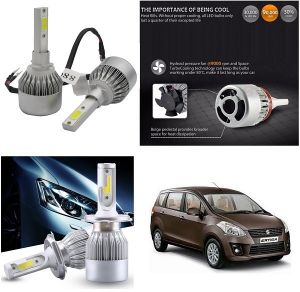 Headlights and bulbs - Trigcars Maruti Suzuki Ertiga Old Car LED HID Head Light