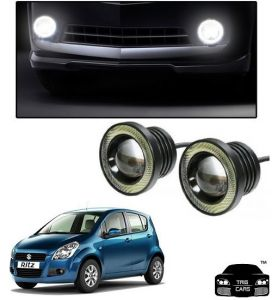 Trigcars Maruti Suzuki Ritz Old Car High Power Fog Light With Angel Eye