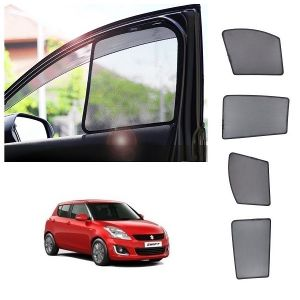 Trigcars Maruti Suzuki Swift 2006 Car Half Sunshade