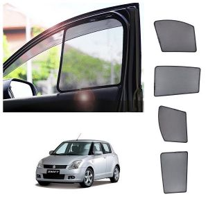 Trigcars Maruti Suzuki Swift 2011 Car Half Sunshade