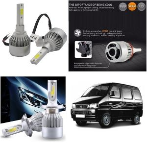 Headlights and bulbs - Trigcars Maruti Suzuki Versa Car LED HID Head Light