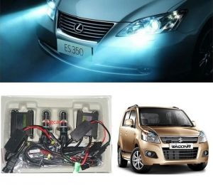 Headlights and bulbs - Trigcars Maruti Suzuki WagonR 2015 Car HID Light