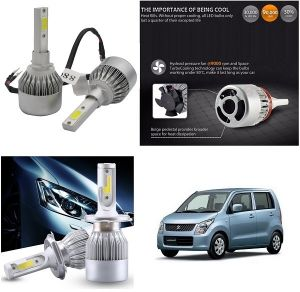 Headlights and bulbs - Trigcars Maruti Suzuki WagonR Old Car LED HID Head Light