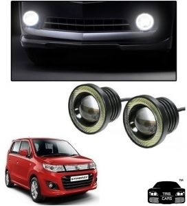 Trigcars Maruti Suzuki Wagon R Stingray Car High Power Fog Light With Angel Eye