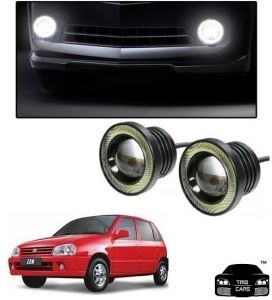 Trigcars Maruti Suzuki Zen Car High Power Fog Light With Angel Eye