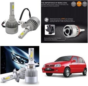 Headlights and bulbs - Trigcars Maruti Suzuki Zen Car LED HID Head Light