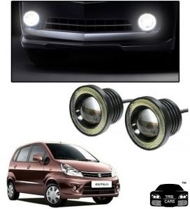 Trigcars Maruti Suzuki Zen Estilo Car High Power Fog Light With Angel Eye