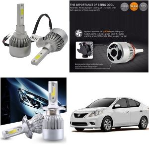 Headlights and bulbs - Trigcars Nissan Sunny Car LED HID Head Light