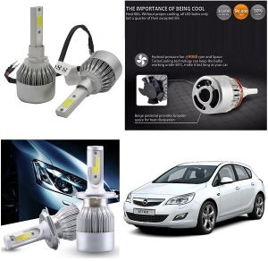 Trigcars Opel Astra Car LED Hid Head Light