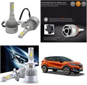 Trigcars Renault Captur Car LED Hid Head Light
