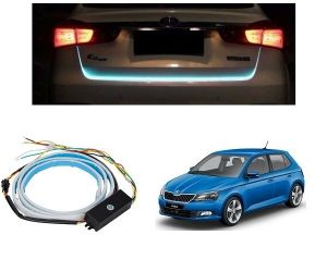 Trigcars Skoda Fabia Car Dicky LED Light Car Bluetooth