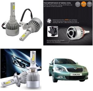 Trigcars Skoda Laura Car LED Hid Head Light