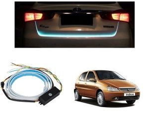 Trigcars Tata Indica Car Dicky LED Light Car Bluetooth