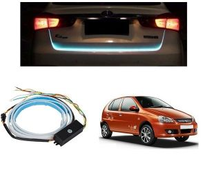 Trigcars Tata Indica V2 Car Dicky LED Light Car Bluetooth