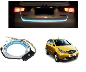 Trigcars Tata Indica Vista Car Dicky LED Light Car Bluetooth